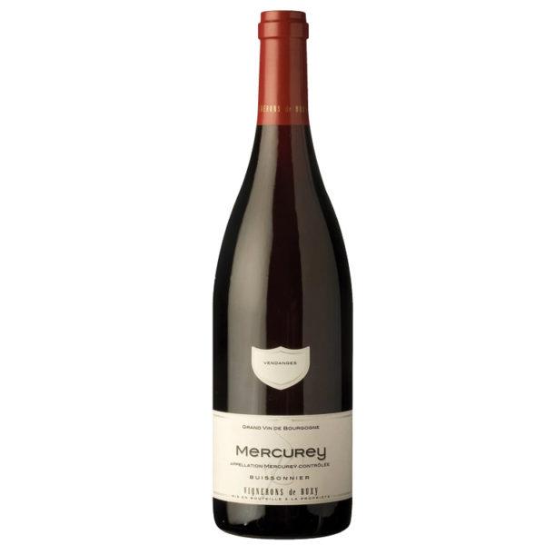 Mercurey Buissonnier Vins Rouges Pinot Noir Bourgogne