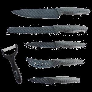 Couteaux Set 6 pièces Couteaux Ustensiles cuisine