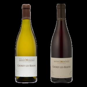 Coffret Chorey-lès-Beaune Chardonnay Pinot Noir