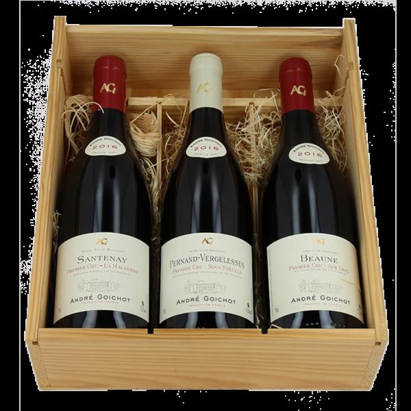 Santenay 1er Cru 2016 - Pinot Noir - Pernand-Vergelesses 1er Cru - Chardonnay - Beaune 1er Cru - Pinot Noir - Vins de Bourgogne