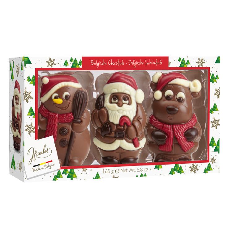 Père Noël en chocolat - Comité d'entreprise