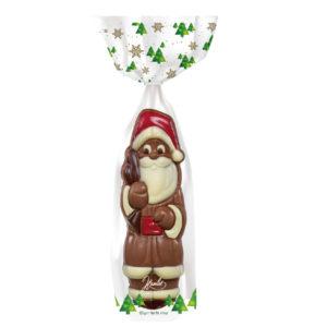 Père Noël au chocolat - Sachet de Noël - Comité d'entreprise